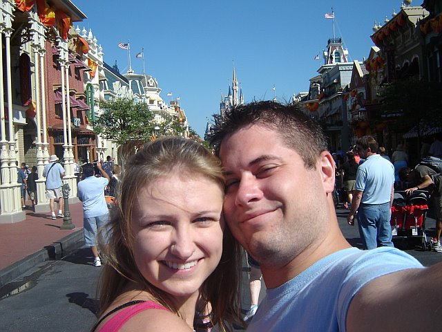derek and whitney self portrait disney